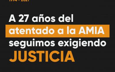 Seguimos exigiendo justicia